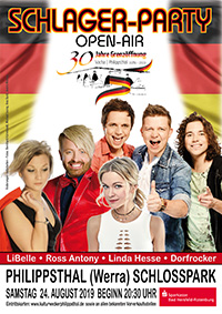 Plakat Schlager-Party
